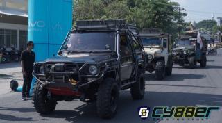 Pelepasan Adventure Camping (JAC) yang Akan Mengikuti Event Adventure Raox 5 di Bengkulu