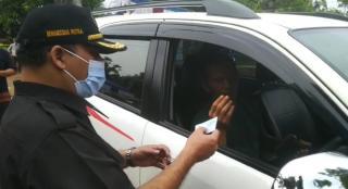 Ketua DPRD Sumedang Monitoring Pos penyekatan Arus Mudik