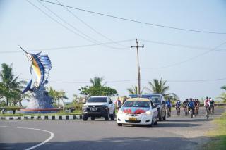 Pererat Sinergitas, Kapolres Banjar Gowes Bareng Forkopimda