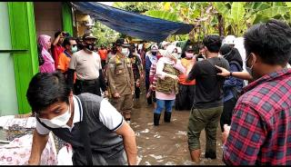Bupati Klaten Tinjau Banjir di Mawen Pesu Wedi