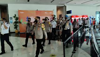 Cek Pos Pengamanan dan Penyekatan, Kapolres Cilegon Kerjasama Dengan Kapolda Banten