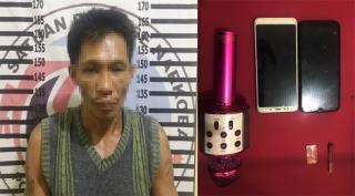 Bawa Narkotika ke Rumah Makan, Pria Asal Mesuji Ditangkap Satresnarkoba Polres Tulang Bawang
