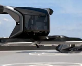 "Konsep Mobil Terbang General Motors bertajuk ""Cadillac Halo"""