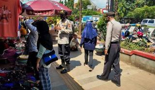 Sikapi Penyebaran Covid di Bulan Ramadhan, Ops Yustisi Polres Majalengka Polda Jabar Sasar Pengunjung Pasar