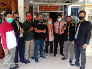Oknum Kades Bedingin Dilaporkan ke Mapolres Lamongan, Diduga Arogansi Terhadap Media