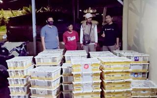 Supir Selundupkan Ribuan Ekor Burung Ditahan KSKP Bakauheni
