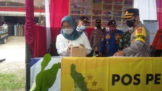 Jelang Idul Fitri, Bupati Bogor Cek Pos Pengamanan Ops Ketupat Lodaya
