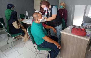 Puskesmas Cijeruk Bogor Kembali Gelar Vaksinasi, Kali ini Diberikan pada TKM