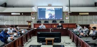 Diskusi Disdik Jabar dan AKN Implementasikan Program Bantuan Kuota Internet Tahun 2020 - 2021