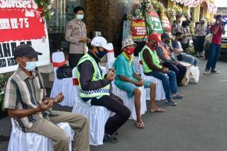 Peringati Hari Jadi ke-73 Polwan, Polresta Cirebon Gelar Baksos