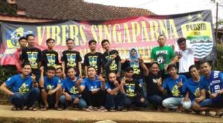 Kelompok Supporter Persib, Vibers Asal Singaparna Merayakan Ulang Tahunya yang ke Tiga