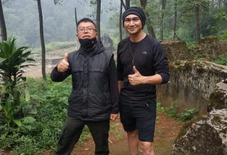 Rachmat Muljana : Spot Pendakian ke Puncak Mega akan Dibuka Bulan Maret 2021. Spot selfie blok C4 akan Dibuat Kolam Ikan dan Fun Boat