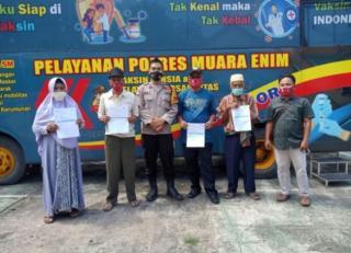 Team VASDOOR Hadir Layani Lansia dan Disabilitas di Kecamatan Muara Enim