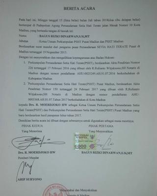 Kisruh Dualisme PSHT di Kabupaten Mesuji, Padepokan Agung Sebagai Saksi Bisu. Ini Faktanya