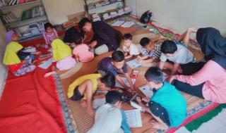 Cerdaskan Anak Bangsa yang Berakhlak Mulia, TBM Silayung Lembakum Siliwangi Tingkatkan Program Kegiatan