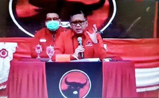 Hasto Kristiyanto Sampaikan Pesan Megawati di Rakorbid Pariwisata
