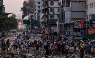 Militer Myanmar Ancam Ambil Aset di Bank Swasta