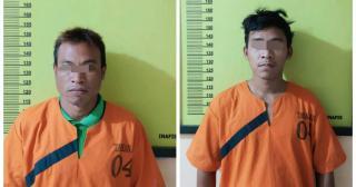 DPO 4 Tahun, Polres Inhu Amankan Dua Pelaku Pembunuhan