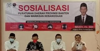 DPRD Provinsi Banten Laksanakan Sosialisasi Perda dan Wawasan Kebangsaan