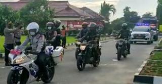 Patroli Skala Besar Sambut Bulan Ramadhan di Kabupaten Tulang Bawang