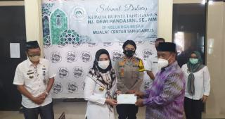 Mualaf Center Indonesia Tanggamus Terima Bantuan dari Bupati